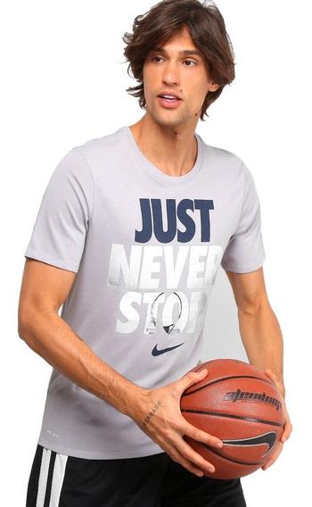 Camiseta Nike Dry Tee Just Never Stop
