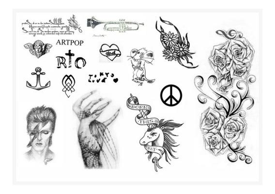 Tatuagens Lady Gaga