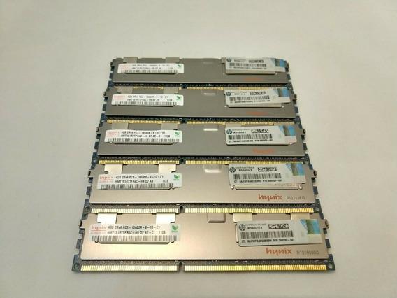 Memoria Micron/samsung Pc3-10600r Ddr3 1333 4gb Ecc Server
