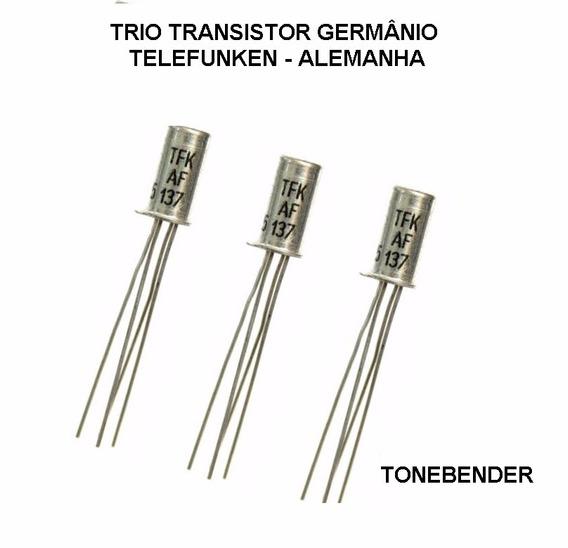 3x Transistor Germânio Pnp Tone Bender Fuzz Leia Descrição