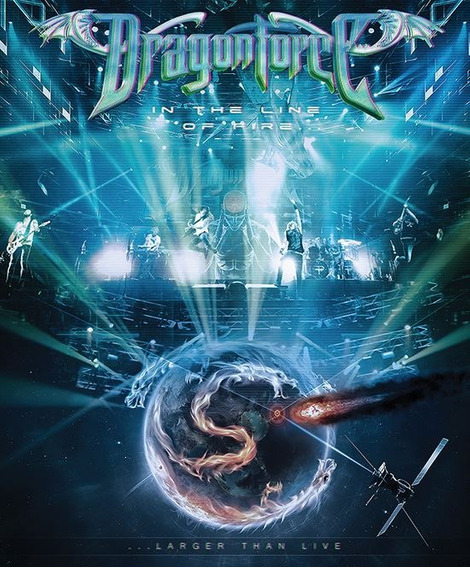 Dragonforce In The Line Of Fire Blu-ray Disc
