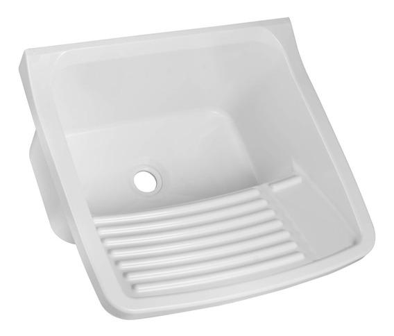 Tanque Simples Para Lavar Roupas 15l Astra Branco Hi