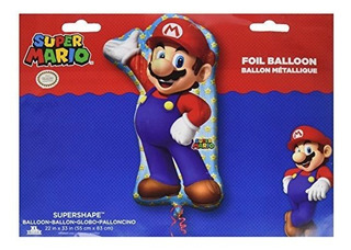 Anagrama 33 En Mario Bros Globo De Papel