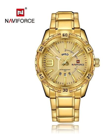 Relógio Naviforce Dourado