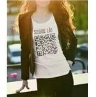 Camisa Inteligente, Acesse Seu Site E Sua Rede Social Via Qr