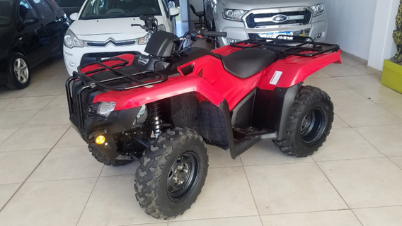 Cuatriciclo Honda Trx 420 4x2 Igual A Nuevo Sólo 350 Km