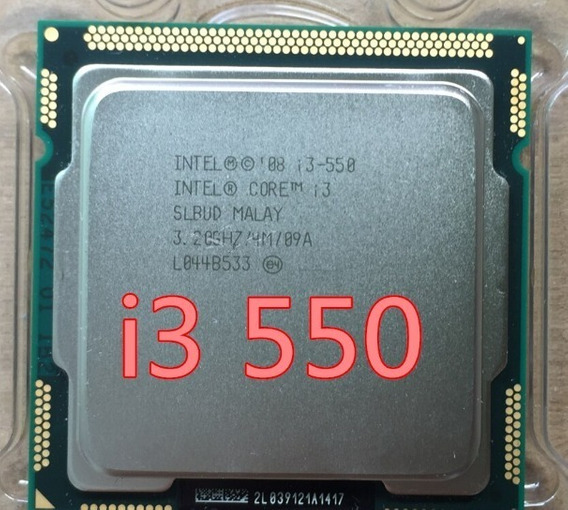 Processador Intel Core I3 550 3.2ghz / 4mb Cache Lga 1156