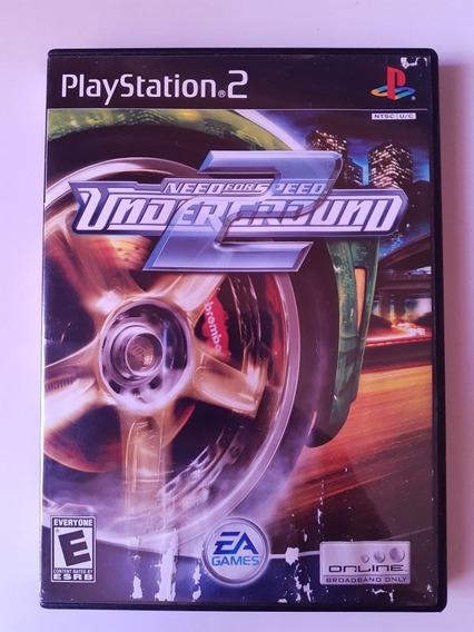 Need For Speed Underground 2 Play 2 Original Eua Na Caixa!!