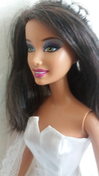 Boneca Barbie Noiva Morena