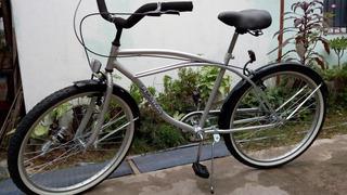 Bicicleta Playera Hombre Rodado 26 Con Frenos V/brakes