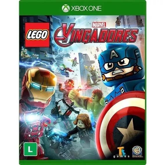 Lego Marvel Vingadores Em Pt-br Xbox One Física Frete Grátis