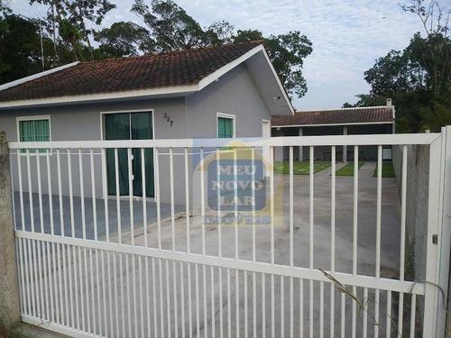 Casa Com 3 Dormitórios À Venda, 80 M² Por R$ 230.000,00 - Primavera - Pontal Do Paraná/pr - Ca0338