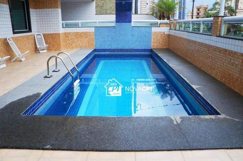 Apartamento Com 2 Dormitórios À Venda, 79 M² Por R$ 384.103,00 - Vila Caiçara - Praia Grande/sp - Ap3213