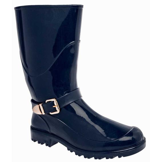 Zapato Lluvia Mujer Top Moda 79736 Oi18 Env Inmediato!!