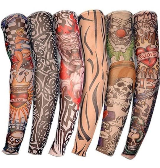 Manga Tatuaje Protector Grande 1 Pieza Unitalla Moto Ejercicio Cubre Sol