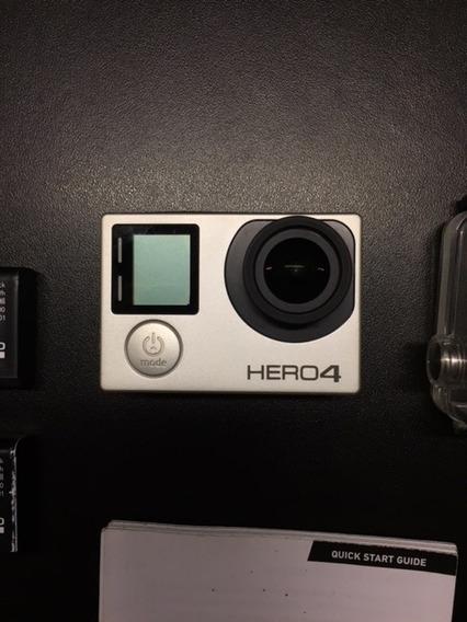 Gopro Hero 4 Silver / Preço Ótimo / Pouquíssimo Uso