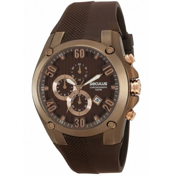 Relógio Masculino Seculus Prime Cronógrafo 28207gpsgmu1