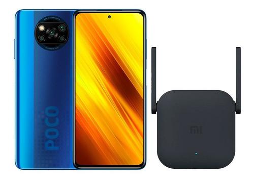 Xiaomi Poco X3 64gb / 6gb Ram + Funda + Mi Wifi Range