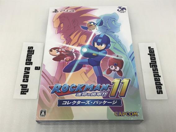 Mega Man ( Rockman ) 11 Limited Collectors Package Ps4