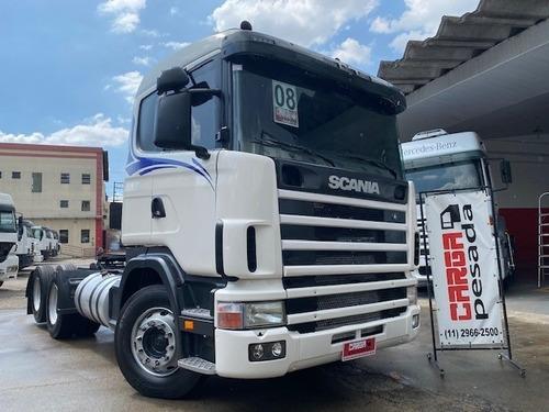 Scania R124 420 R 420 Evoluçao Truck 6x2 = G380 Fh380 400