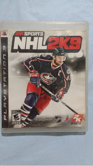 Nhl 2k9 - Mídia Física - Ps3