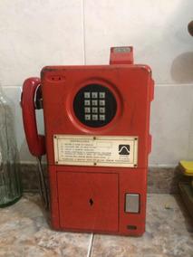 Antigo Orelhão Telesp Vermelho Ficha
