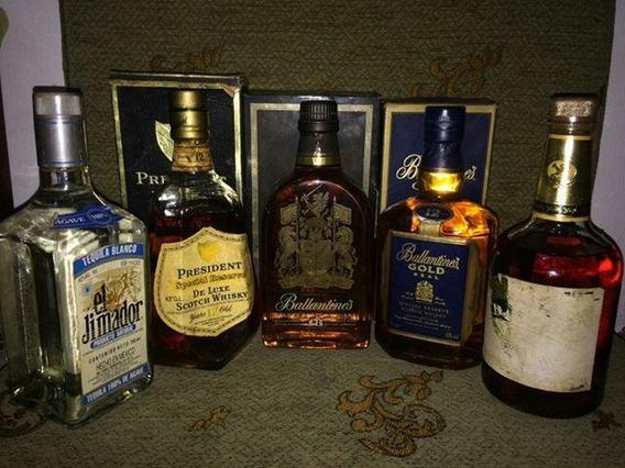 Licor Añejado, Whisky Y Tequila