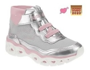 Tênis Botinha Infantil Kidy Light Girl 023-0016 Lançamento