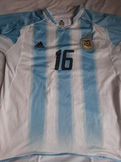 Camisa Seleção Argentina 2002.