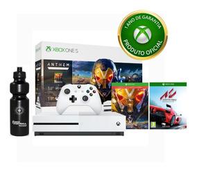 Console Xbox One S 1tb Anthem + Controle Sem Fio + Jogo