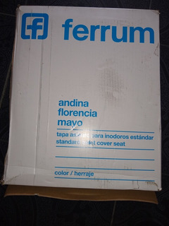 Tapa De Inodoro Ferrum