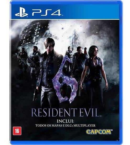 Jogo Ps4 Resident Evil 6