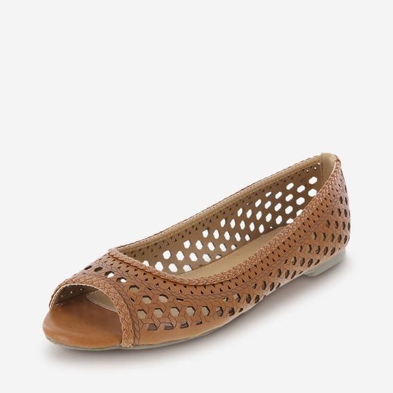 Exclusivos Flats De Dama Acabado De Perforado (talla Extra)