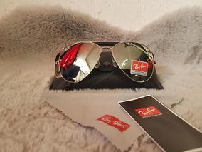 Gafas Lentes De Sol Tipo Aviador Ray Ban