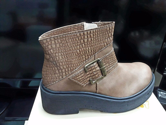 Zapato Para Mujer Botineta Gran Comodidad #brendacalzados