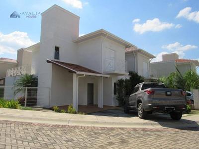 Casa Com 4 Dormitórios Para Alugar, 162 M² Por R$ 3.200/mês - Chácara Belvedere - Indaiatuba/sp - Ca2856