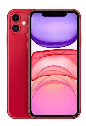 iPhone 11 Vermelho, Com Tela De 6,1 , 4g, 128 Gb - Mhdk3br/a