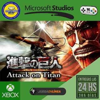 Attack On Titan - Xbox One - Modo Local