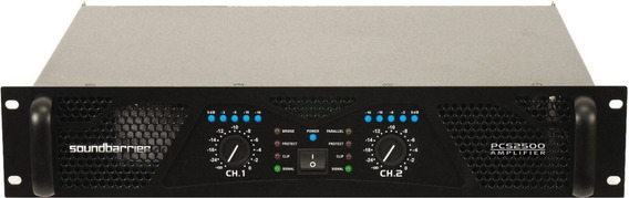 Amplificador Power Soundbarrier Modelo Pcs 2500 ( Leer Antes