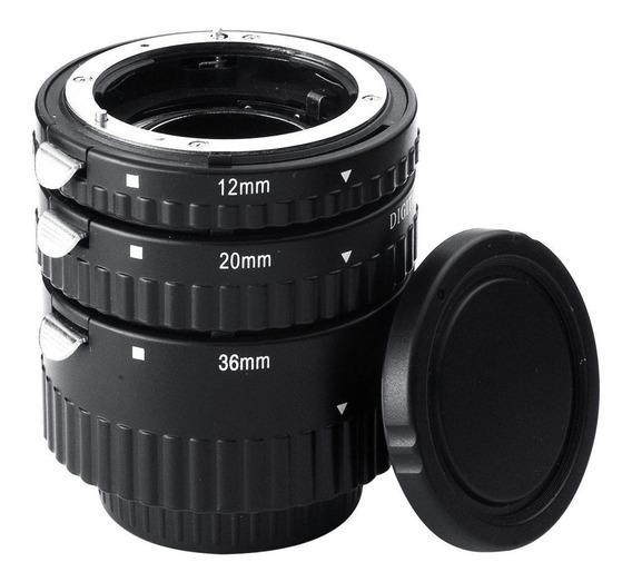 Tubo Extensor Meike Af Macro Auto Foco P/ Nikon Af Af-s Dslr