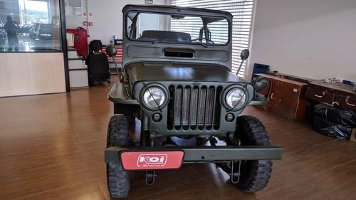 Imagem 1 de 11 de Jeep Willis Militar 1952 4x4 Capota / Lona
