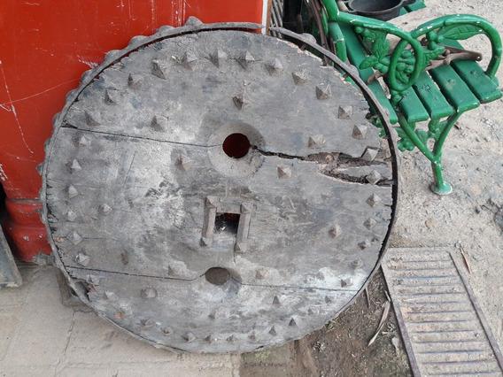 Roda Carro De Boi Antiga