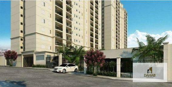 Apartamento Residencial À Venda, Chácara Agrindus, Taboão Da Serra - Ap0127. - Ap0127