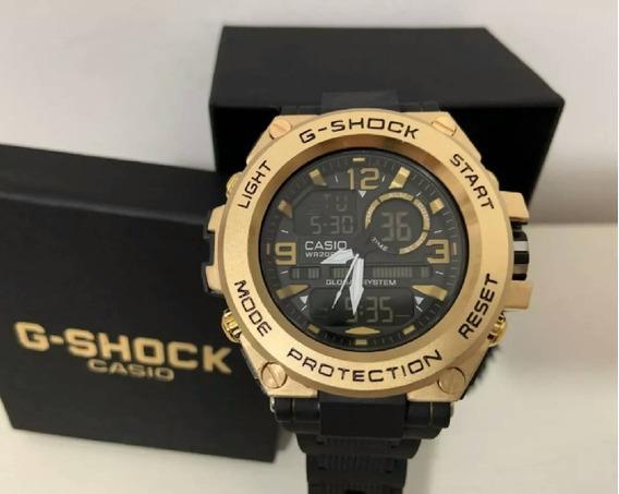 Relógio De Aço G-shock C/caixa