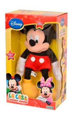 Imagen 1 de 1 de Mickey Club House Muñeco Con Luz Original Ditoys