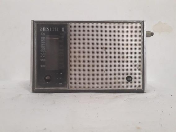 Antigo Rádio Zenith 3 Faixas Modelo 820c Não Funciona R
