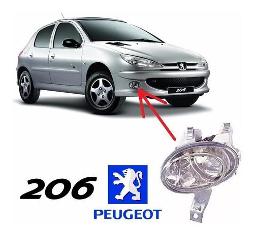Faro Antiniebla Peugeot 206  2001-2008 Derecho O Izquierdo