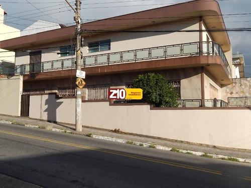 Ca09142-at.500m²ac.290m²-mauá São Paulo-ótimo Sobrado Em Localização Comercial E Residencial Com 3 Suítes Com As Seguintes Medidas  Todos Com Banheira - Ca09142 - 68870365