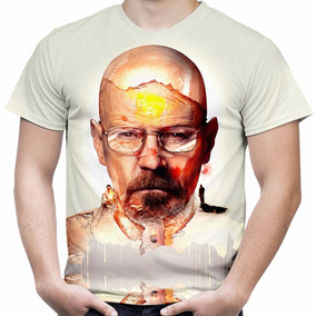 Camiseta Camisa Série Breaking Bad Masculina Estampa Total 3