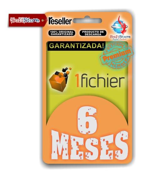 Cuenta Premium 1fichier 6 Meses (ilimitada!)